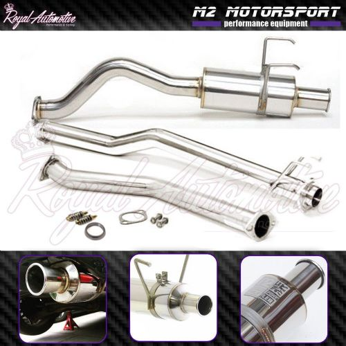 Honda Civic EP1 EP2 Performance Cat Back Exhaust Stainless Spoon N1 Style Tip